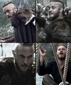 Vikings - Travis Fimmel as Ragnor Lothbrok  Yeah, I know he's unkempt but he's still hot!