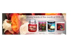 Feb. 2015 Scents of the Month at an additional 20% off the regular retail price all Month long! http://www.villagecandle.com/