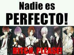 Nobody is perfect - translation  Diabolik lovers