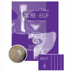 5 pcs Lithospermum EGF Hydro Gel Facial Mask Sheet - Massage Skin Care Masque   eBay