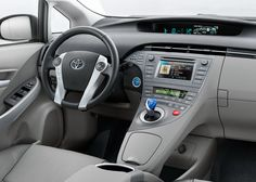 2015 Toyota Prius Interior Wallpaper Full Screen