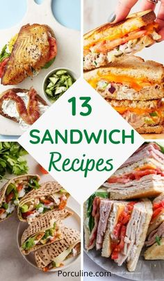 Sandwich Recipes, Lunch Recipes, Seafood Recipes, Healthy Recipes, Reuben Sandwich, Sandwich Fillings, Delicious Sandwiches, Wrap Sandwiches, Vegetarian Sandwiches