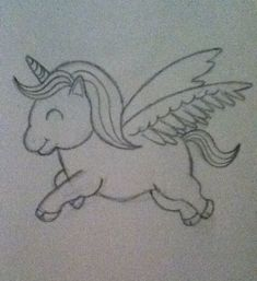 drawing doodles sketches How to Draw a Cartoon Unicorn - Drawing Cartoon Characters, Cartoon Faces, Character Drawing, Cartoon Drawings, Animal Drawings, Cute Drawings Of Animals, Unicorn Drawing, Cartoon Unicorn, How To Draw Unicorn