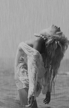 I wanted to be one with the rain