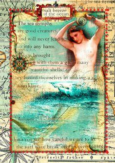 Detail of Mermaid by Julia van der Werf.