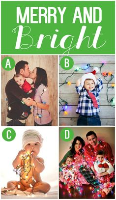 Family Photo Ideas for Family Christmas Cards