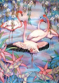 Jigsaw Puzzle - Flamingoes - 1000 Pieces Clementoni