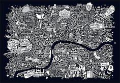 "PHHHHWWWWOOOOAAARRRR! They do a film one too. These Cinematic And Literary Maps Of London Will Make You Go ""Phwoar"""
