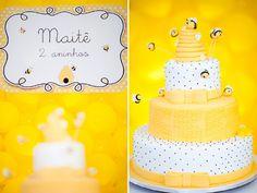 aniversário infantil tema abelha