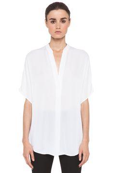gauzey white blouse