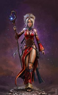 The Iconic Sorceress by SirTiefling.deviantart.com on @DeviantArt