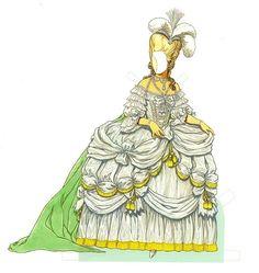 marie anntanett paper doll | Marie Antoinette