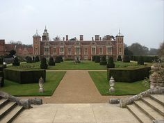 Blickling Hall Anne Boleyn | panorama shot of Blickling Hall, where Anne Boleyn may have been ...