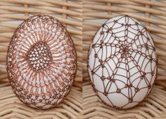 Uova Wire Ornaments, Carved Eggs, Old World Style, Egg Art, Cover Pics, Egg Decorating, Bobbin Lace, Gourds, Easter Eggs
