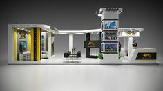 a new design for Al-Nimr Steel company at Metal & Steel exhibition 2014 Cairo / Egypt