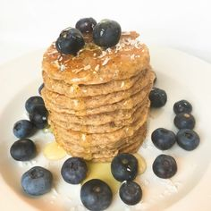 Pancake Vegani con Farina di Cocco - Metodo Energhia
