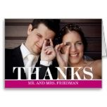 Bold Thanks Wedding Thank You Card Postcards today price drop and special promotion. Get The best buyShopping Bold Thanks Wedding Thank You Card Postcards lowest price Fast Shipping and save your money Now! Photo Thank You Cards, Custom Thank You Cards, Photo Cards, Wedding Thank You Postcards, Wedding Postcard, Best Man Speech, Rustic Wedding Signs, Simple Wedding Invitations, Father Of The Bride