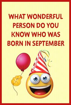 Did You Know, September