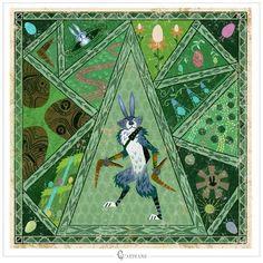 Mythology Bunny Rise of the Guardians Fine Art