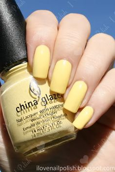 Pale yellow is my new springtime obsession :)