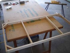 Building the modular wargaming table top mark I