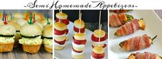 Semi Homemade Recipes Breakfast, Appetizers, Main Dish, Cakes, Cupcakes, Party Food..All Semi Homemade!