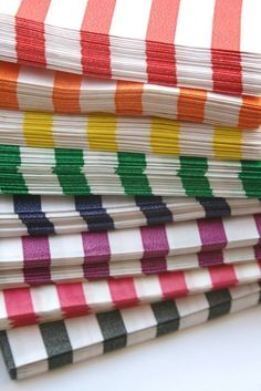 Traditional Sweet Shop Candy Stripe Paper Bag Variety
