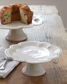 Quatrefoil Cake Plates