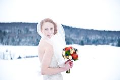The Snowy Bride - AMBphoto, Anne-Marie Bouchard. Rivini by Rita Vinieris. Jewel Tones, Be Perfect, Wakefield Quebec, Wedding Inspiration, Bride, Wedding Dresses, Winter, Beautiful, Bridal Dresses
