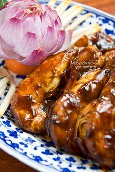 Assam Tamarind Prawns #nyonya #malaysiafood #prawn #assam