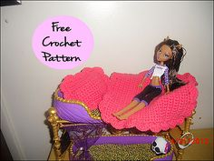 Ravelry: Monster High Pillow and Blanket pattern by Melissa's Crochet Patterns