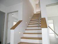 gerade treppe treppen pinterest. Black Bedroom Furniture Sets. Home Design Ideas