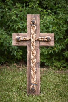 Handmade Rustic Cross by SouthernCraftINC on Etsy