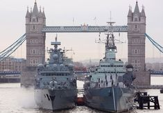 German Navy frigate,FGS Schleswig-Holstein arrived in London Friday,January 24th where it will stay until early this week.Visit comes in anticipation of Schleswig-Holstein's deployment on Cougar 2014 later in year with Royal Navy's Response Force Task Group.Cougar 14 annual round of maritime exercises conducted in Mediterranean & Gulf regions alongside key allied nations & Armed Forces.Berthed alongside historic HMS Belfast.