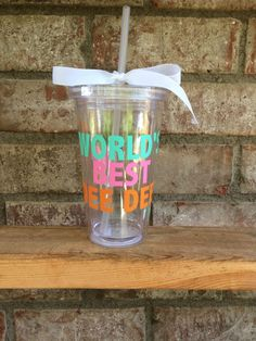 Mother's Day Acrylic Tumblers - FREE SHIPPING by HappyToz on Etsy