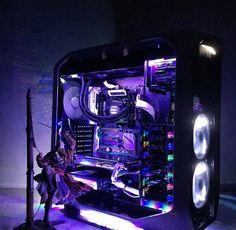 Space Star Lights of Desktop Case