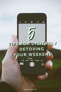 5 Tips for Digitally Detoxing Your Weekend Green Slime Recipe, Free Activities For Kids, Mind Numbing, Self Compassion, Cool Phone Cases, Green Life, Sustainable Living, 5 Ways, How To Stay Healthy