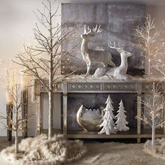 today we have Christmas decoration ideas to create your own Christmas fairy tale. Christmas Fairy, Elegant Christmas, Rustic Christmas, Christmas Home, Christmas Holidays, Christmas Entryway, Magical Christmas, Beautiful Christmas, Christmas Centerpieces