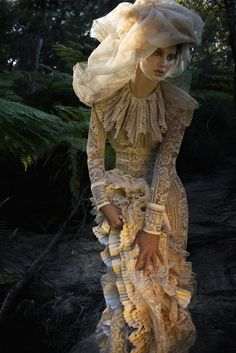 Edwardian passion for the bride to star in her own period drama.