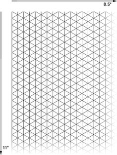 Black And White School Exercise Book Paper Grid Paper Isometric