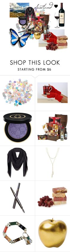 """Beautiful Scotland ❤"" by martina4pisova on Polyvore featuring claire's, Gucci, MCM, Bloomingdale's, Clé de Peau Beauté, Bitossi and Columbia"