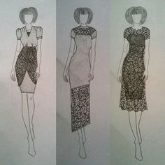 #fashion #design #designer #fashiondesign #fashiondesigner #style #stylist #illustration #fashionillustration #draw #drawing #grey #pencil #graffit. #moda #mode #lace #pearls