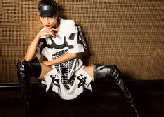 Micah Gianneli_Best top Australian fashion style blog_Rihanna Riri style_BKRM_Backroom Clothing_Katie Eary_KTZ_Lazy Oaf_Lya Lya_Urban hip hop fashion editorial campaign