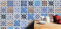 Traditional Tiles Stickers Tiles Decals Tiles door HomeArtStickers