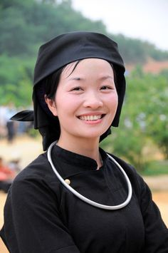 Nung ethnic group's young unmarried women in their daily costume