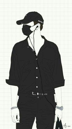 me lembrou o Suga Boys Wallpaper, Cartoon Wallpaper, Cute Anime Boy, Anime Guys, Cover Wattpad, Bts Drawings, Fan Art, Kpop Fanart, Art Background