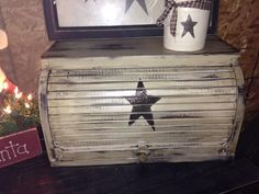Neat idea for a old bread box.