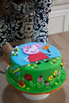 Peppa Pig Cake …