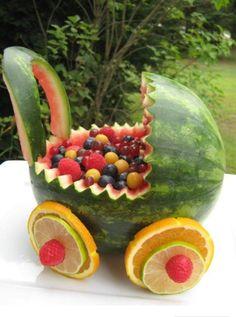 Scultura di frutta