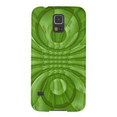 Abstract green Wood Pattern Galaxy S5 Covers